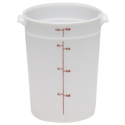 Cambro Round Food Container 8 Quart