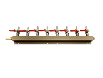 GAS MANIFOLD - 8 WAY