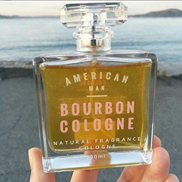 #1 American Man Men's Bourbon Cedar Vanilla Cinnamon Cologne Essential oil Based All natural Fragrance Inspired by American Distilleries Best Cologne