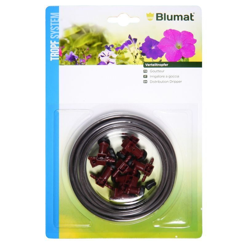 Blumat Drip System Distribution Dripper Extension Pack With 10 Drippers
