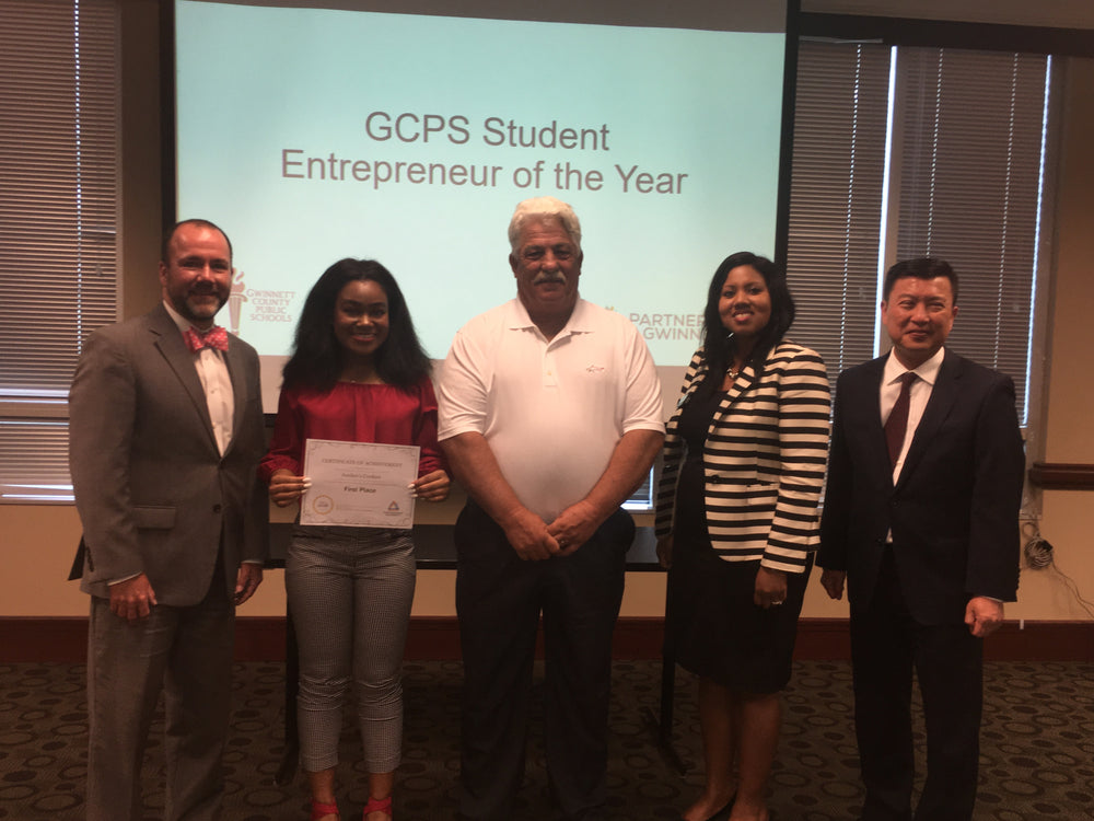 GCPS Student Entrepreneur of the Year 2018
