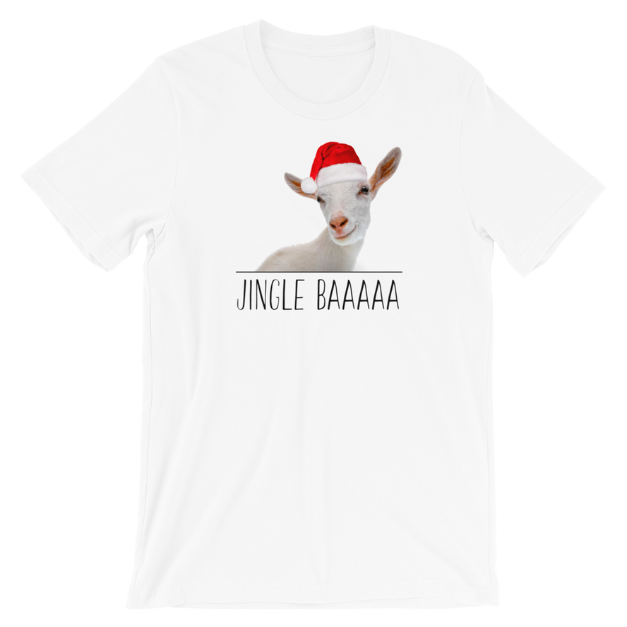 Jingle Baaaa Adult Unisex T-Shirt