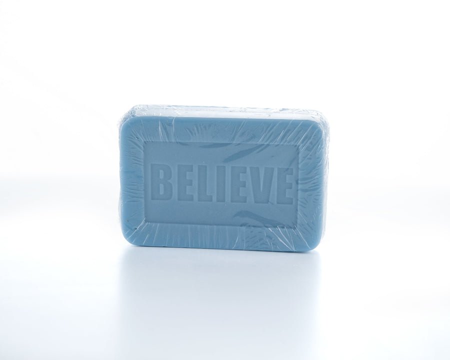 Believe Goats Milk Soap Front View 6oz