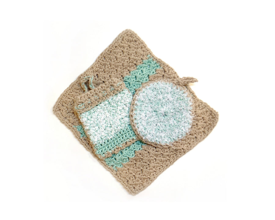 Crochet Spa Sets