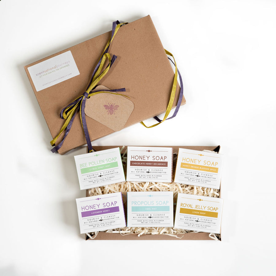Scentsational Journeys Soap Collection Gift Box