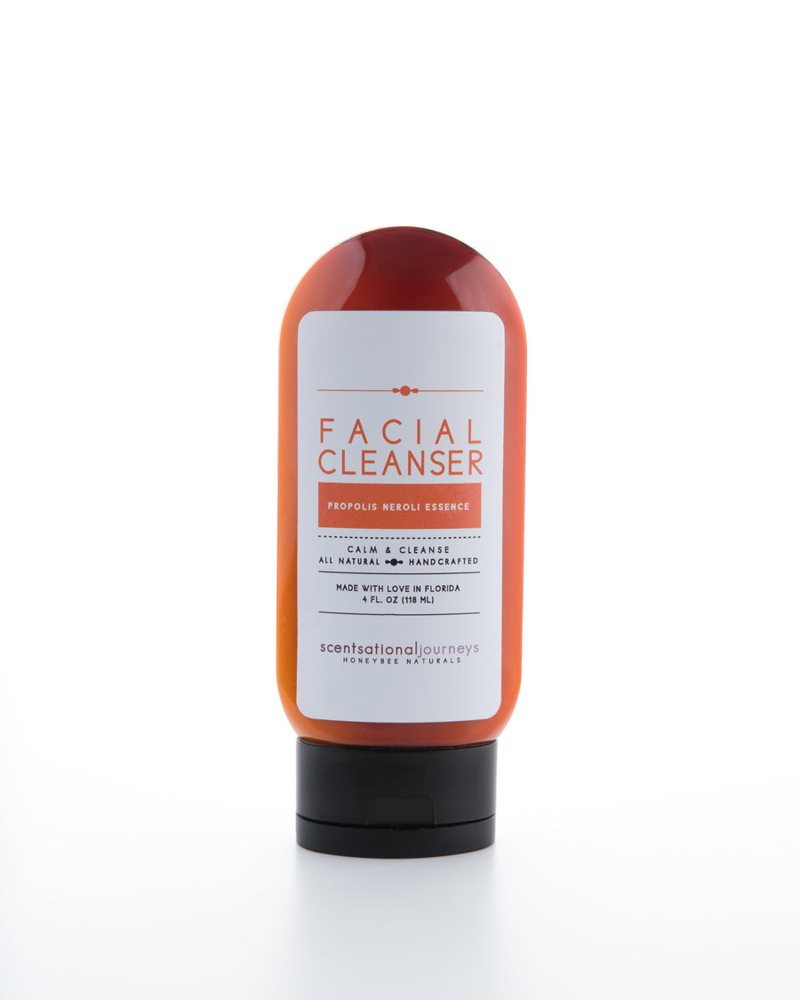 HoneyBee Naturals Facial Cleanser, Propolis Neroli Essence