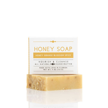 Honey Orange Blossom Spice Soap