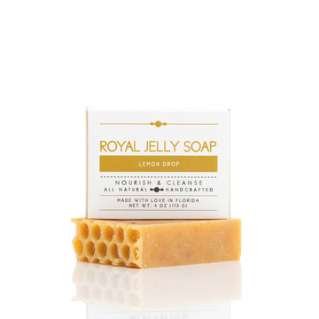 Royal Jelly Lemon Drop Soap