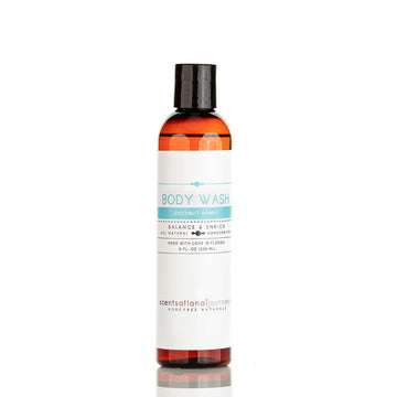 Coconut Honey Omega-3 Hemp & Aloe Cleansing Body Wash