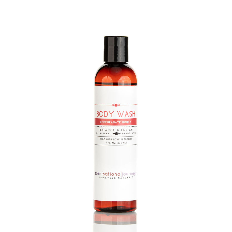 Pomegranate Honey Omega-3 Hemp & Aloe Body Wash