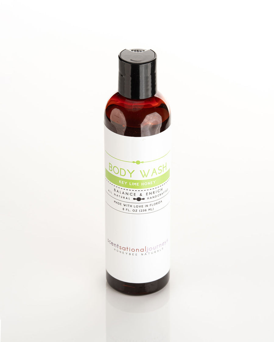 Key Lime Honey Omega-3 Hemp & Aloe Cleansing Body Wash