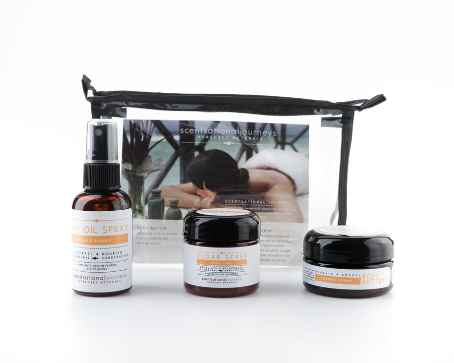 Mango Honey Signature Florida Collection Travel Amenity Spa Kit