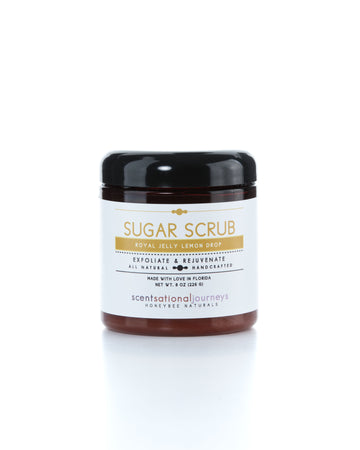 Royal Jelly Lemon Drop Sugar Scrub 8oz