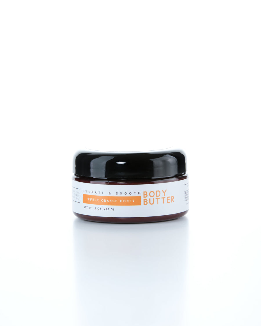Sweet Orange Honey Body Butter 8oz