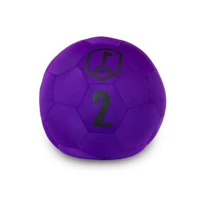 Purple & Black ball - FREE SHIPPING