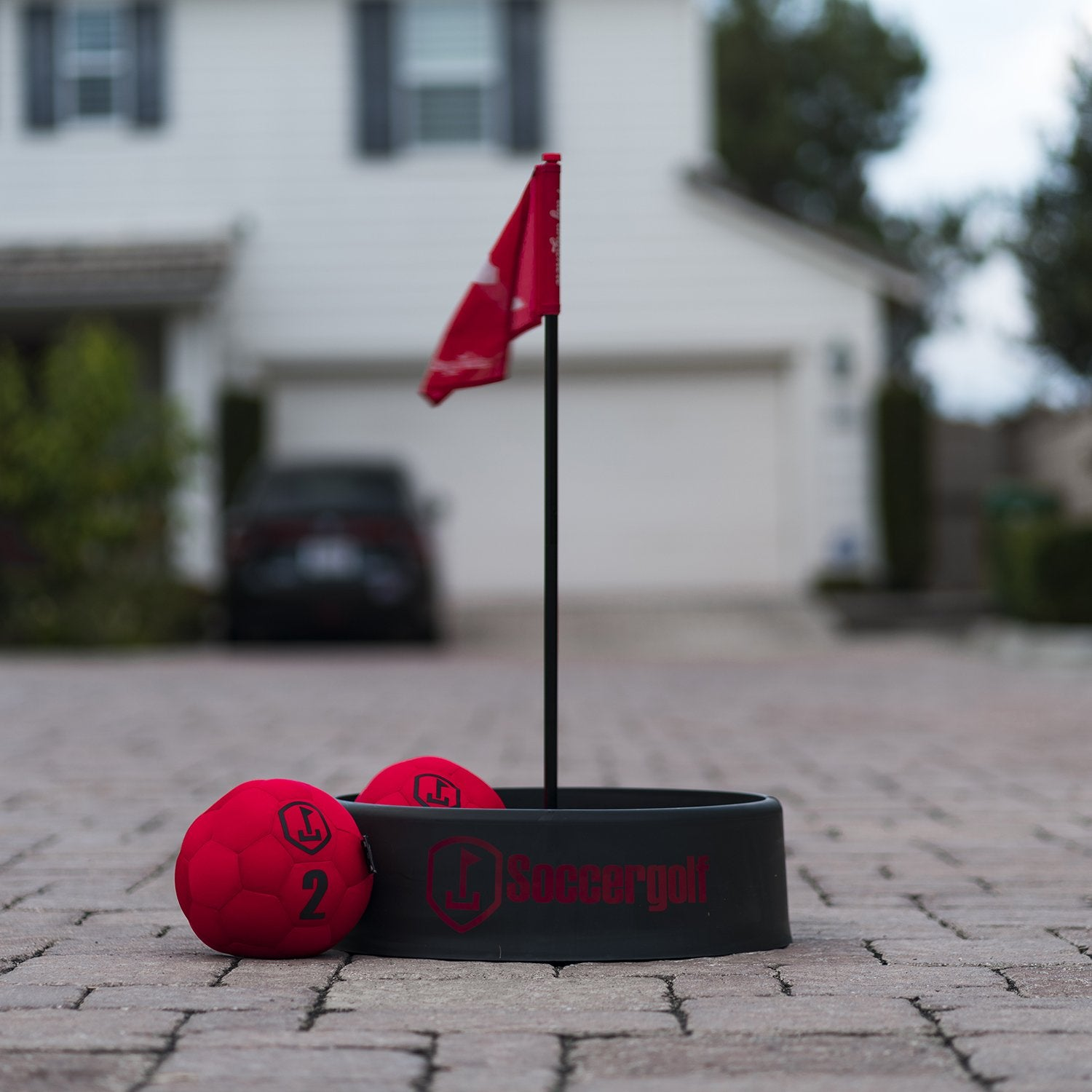 Soccergolf Red edition - FREE SHIPPING