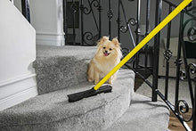 FURemover Broom, Pet Hair Removal Tool with Squeegee & Telescoping Handle