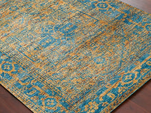 amer silkshine collection saree silk area rug handmade hand knotted indian rug oriental