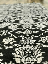 Vineyard (VI-1) Black Rug traditional area rug handmade wool rug