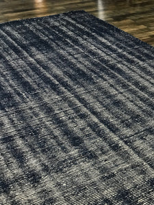 Distressed (DI-1) Navy Rug modern contemporary rug blue rug rustic area rug carpet refined