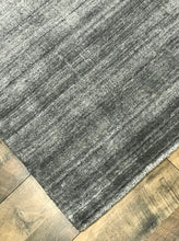 refined carpet rugs area rugs basix collection hand knotted wool and viscose rug solid modern rug online affordable orange county rug store dark gray area rug