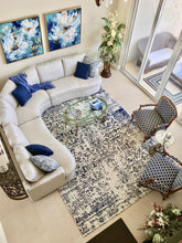 Elegance Collection (EL-1) Navy Rug modern rug contemporary rug online refined carpets area rug affordable