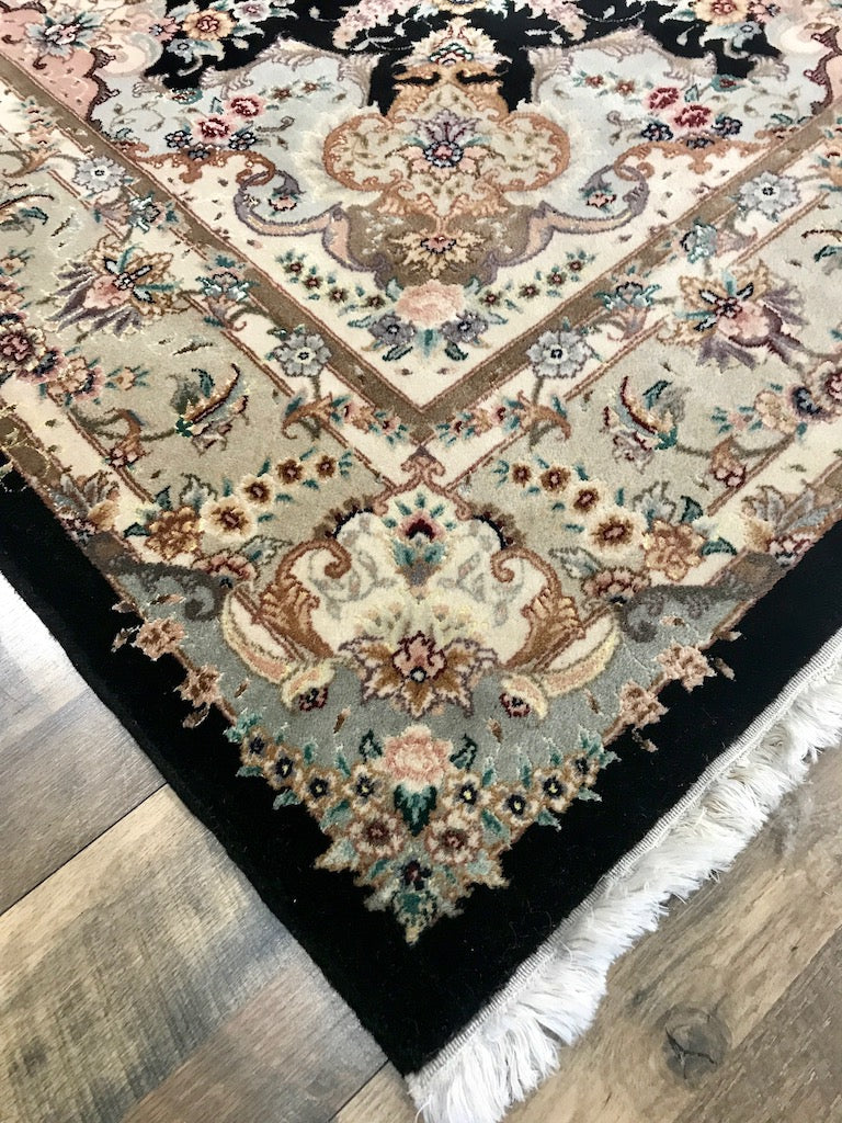 one of a kind chinese area rug hand-knotted handmade traditional area rug online rug store