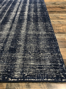 Distressed (DI-1) Navy Rug modern contemporary rug blue rug rustic area rug