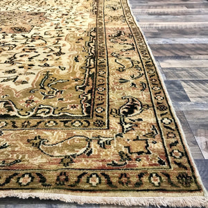 one of a kind Indian heriz area rug hand-knotted handmade area rug indian online rug store