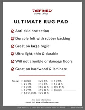 area rug pad non skid good material non sticky non adhesive refined carpet best rug pad ultimate rug pad