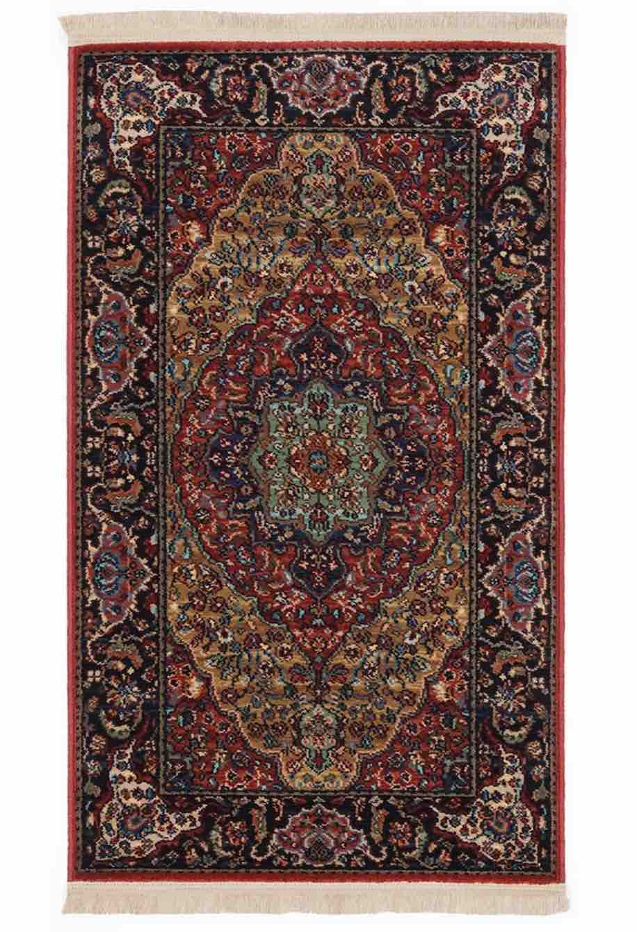 Original Karastan Medallion Kirman Rug