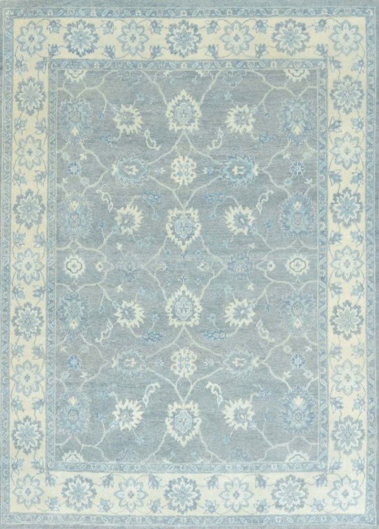 Rustic Collection (RU-4) Sage Blue Rug