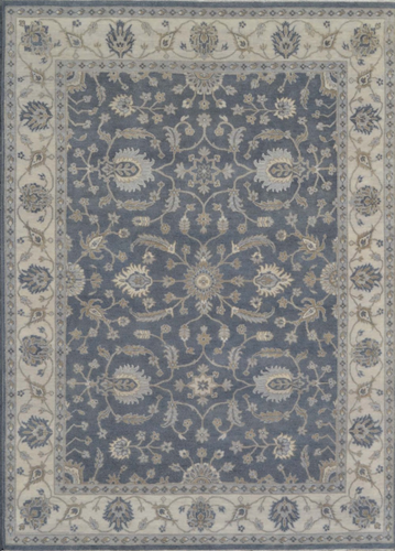Rustic Collection (RU-2) Dark Gray Rug