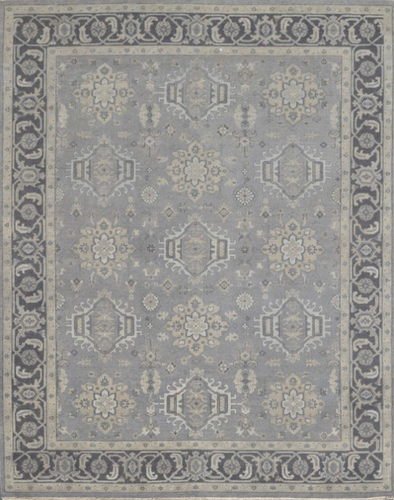 Rustic Collection (RU-1) Light Gray Rug