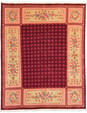 one of a kind vintage area rug antique chinese art deco rug online affordable large red pink