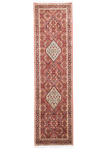 one of a kind vintage area rug antique persian runner rug red traditional online affordable 2' x 10'