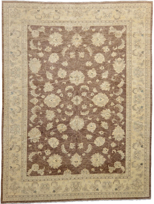 traditional one of a kind large area rug refined carpet | rugs online vintage rug beige brown handmade hand knotted