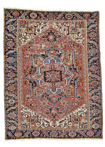 refined carpet rugs one of a kind vintage heriz rug handmade online affordable rug store orange county california traditional area rug