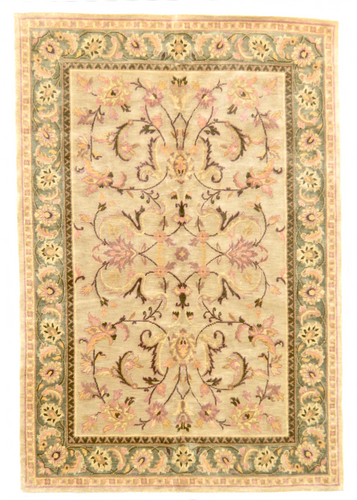 one of a kind vintage chinese rug floral handmade handknotted rug online