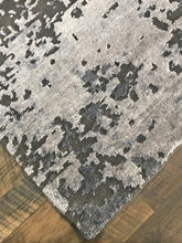 refined carpet rugs cascade collection hand knotted handmade area rugs modern wool and bamboo silk affordable online rug store orange county slate gray