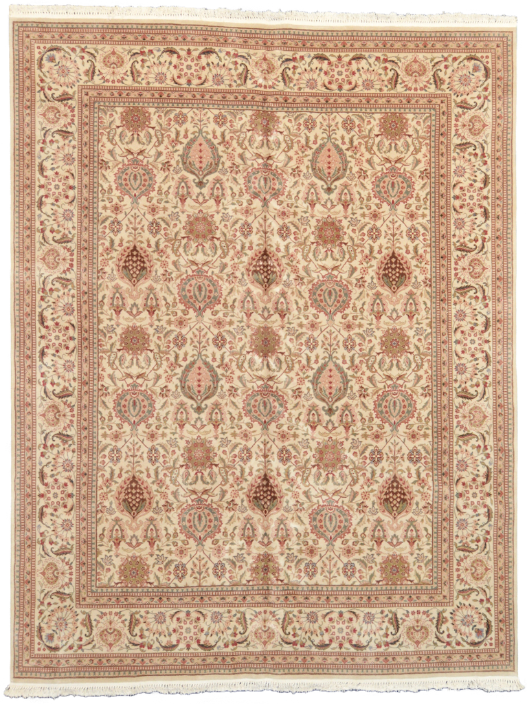 one of a kind chinese area rug hand-knotted handmade traditional area rug online rug store cream 8 x 10 large