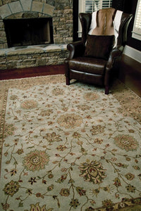 oasis collection handmade hand-knotted indian area rug beige and black online rug store