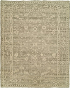 HRI antique natural area rug rustic handmade hand-knotted area rug online rug store