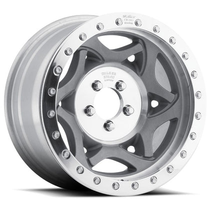 "17x8.5"" Beadlock Racing Wheel Gray"