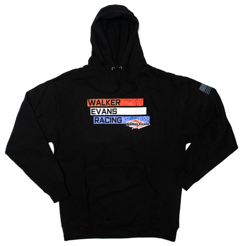 USA Logo Black Pullover Hoodie