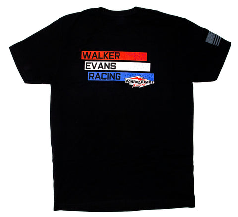 USA Men's Black T-Shirt