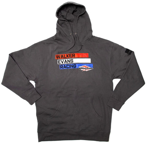 USA Logo Gray Pullover Hoodie