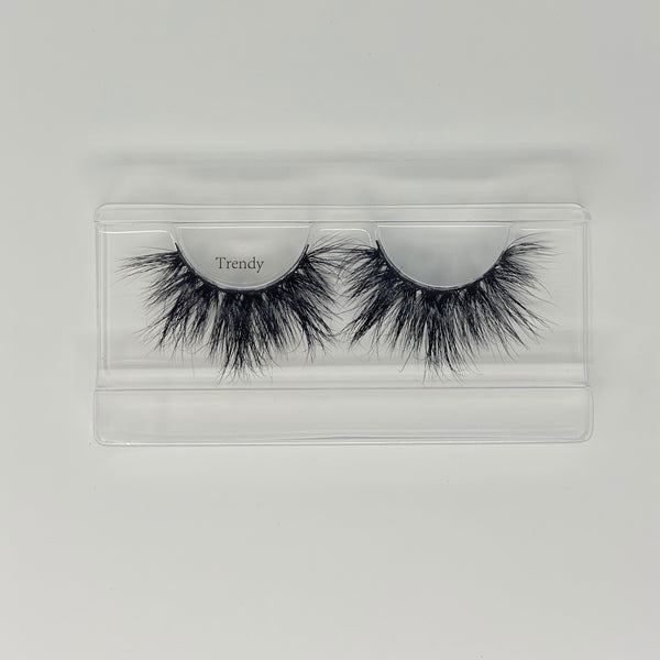 Trendy Dramatic Mink Lashes
