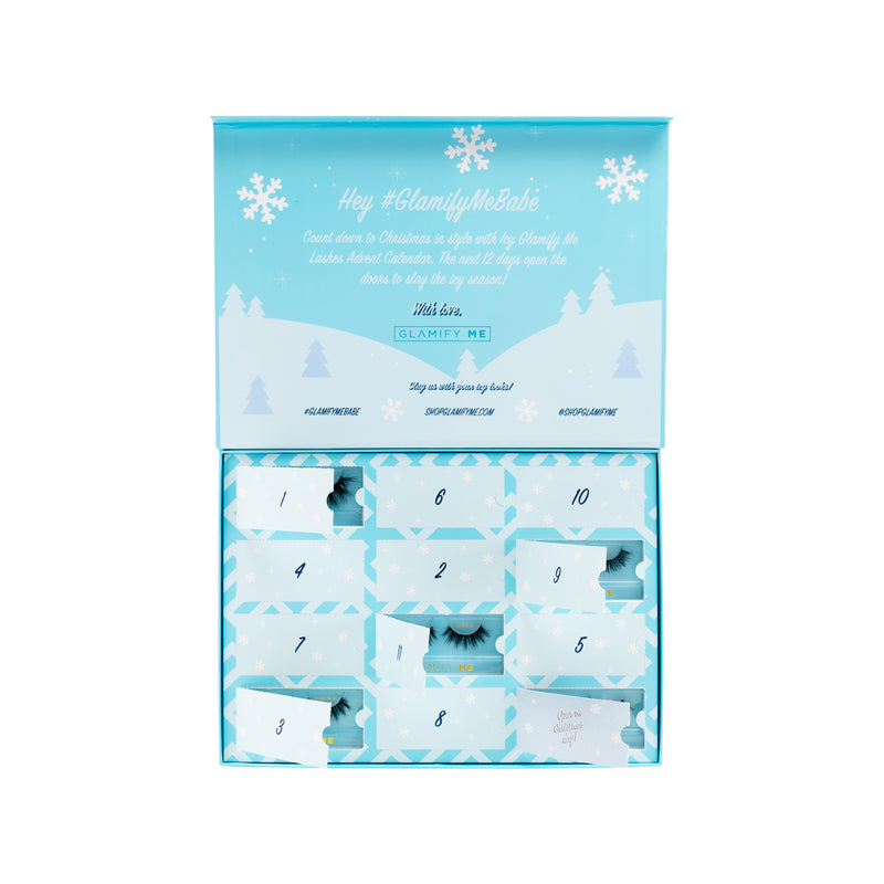 Icy Blue Advent Calendar