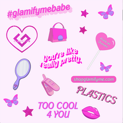 Plastics Sticker Sheet